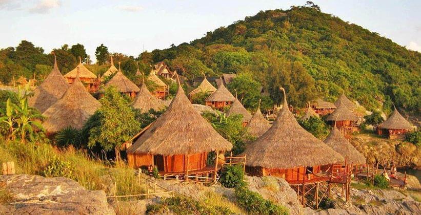 Отель Paree Hut Resort на острове Ко Си Чанг