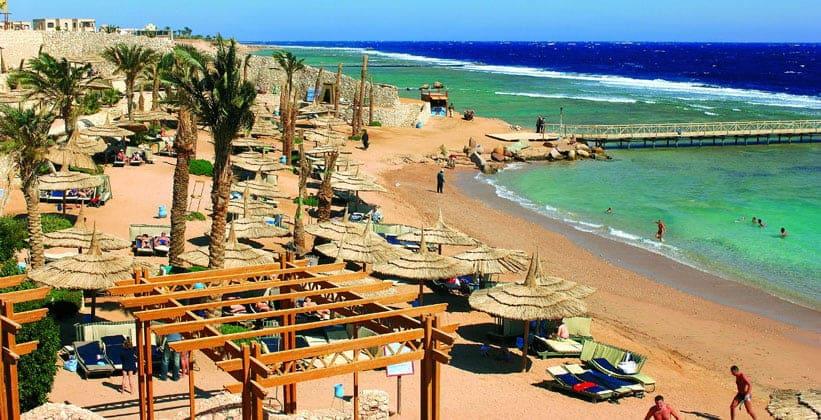Пляж Порт-Сафаги в Египте