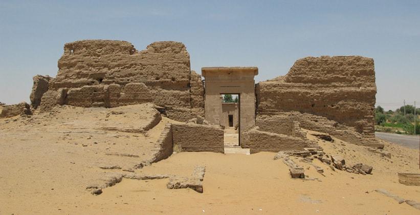 Храм Каср эль-Зайян в Египте