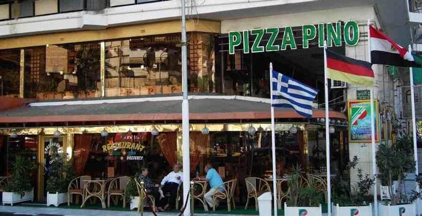 Ресторан Pizza Pino в Порт-Саиде (Египет)