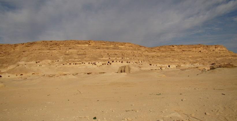 Древняя римская деревня Мараки в Египте