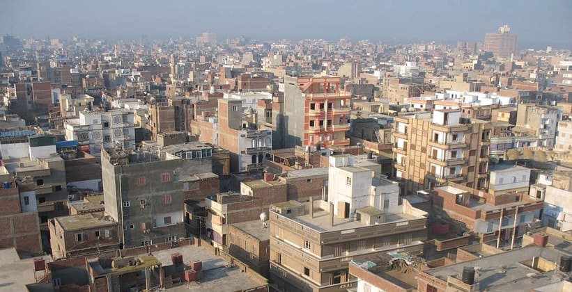 Город Розетта в Египте
