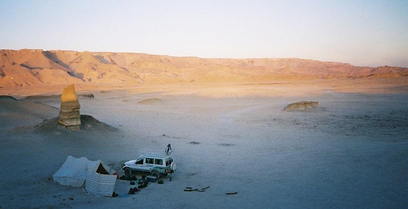 Сафари в оазисе Дахла