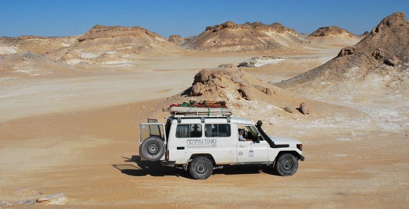 Сафари по пустыне оазиса Бахария в Египте