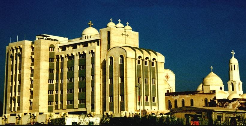 Монастырь Святой Дамианы в Египте