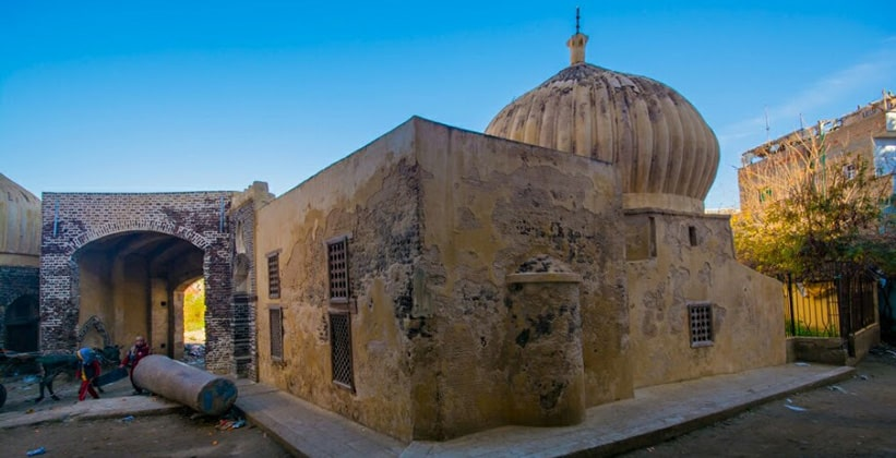Одно из старых строений Розетты (Египет)