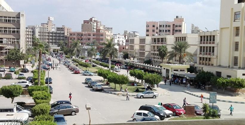 Город Танта в Египте