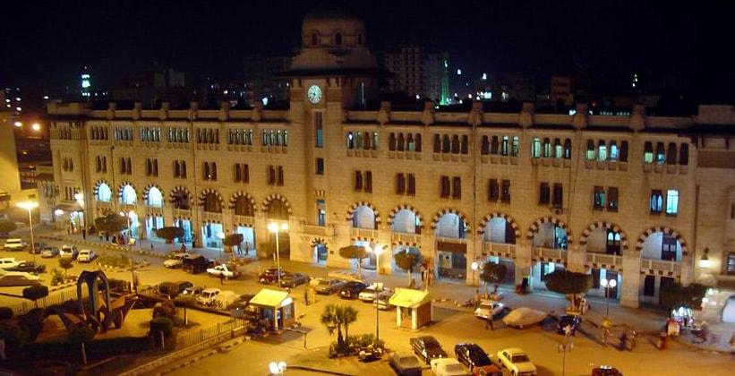 Железнодорожный вокзал Танта в Египте