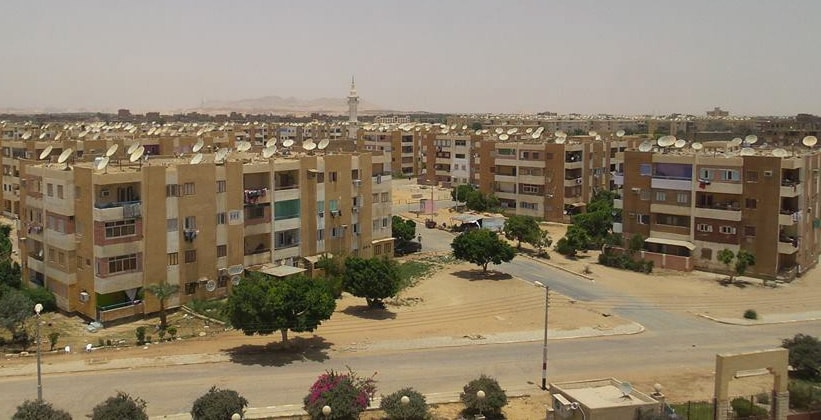 Город Эль-Харга в Египте