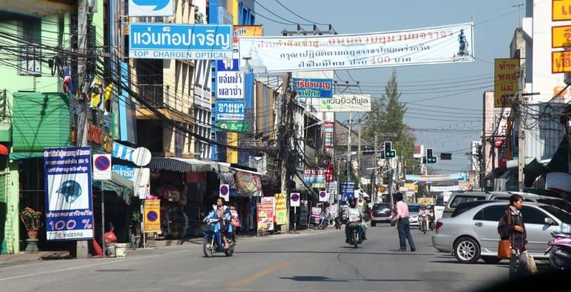 Город Лампхун в Таиланде