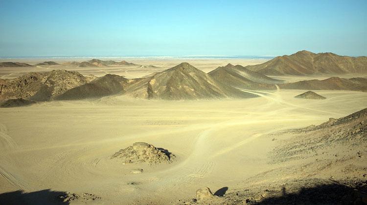 Великая пустыня Египта