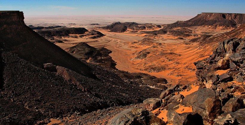 Вади Хамра (Красная долина) в Египте