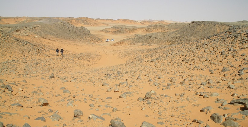 Вади Маши (Прогулочная долина) в Египте