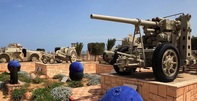 Военный музей в Эль-Аламейне (Египет)
