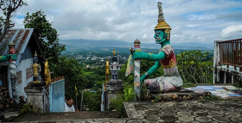 Храм Ват Мэйен в Таиланде