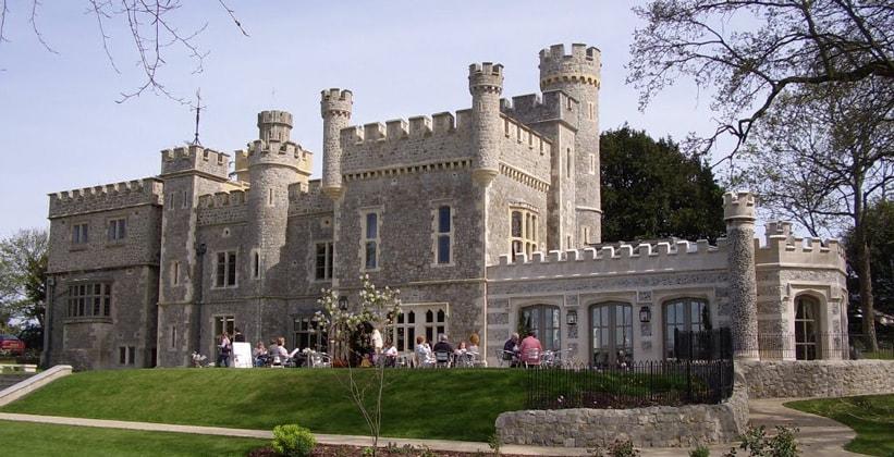 Замок Витстабл в Англии