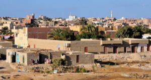 Город Эль-Кусейр в Египте