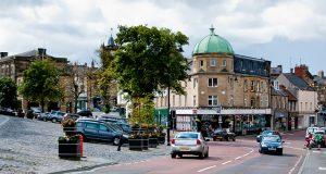 Город Алнвик в Англии
