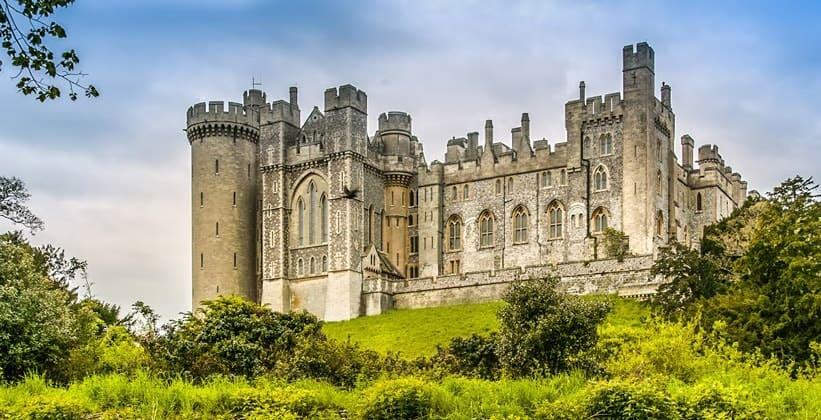 Арунделский замок в Англии