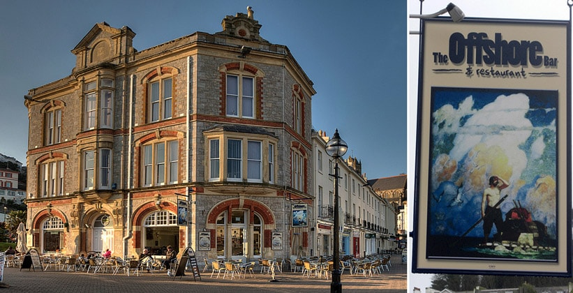 Бар-ресторан Offshore в Торки (Англия)
