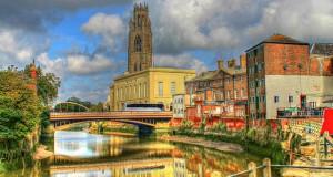 Город Бостон в Англии