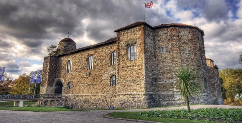 Колчестерский замок в Англии