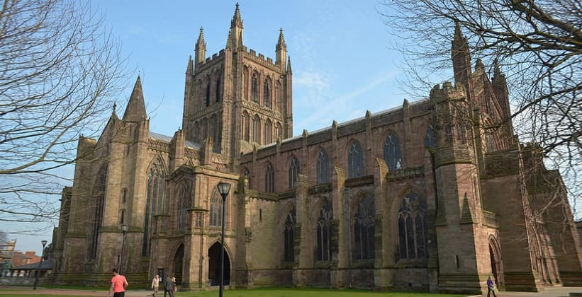 Херефордский собор в Англии