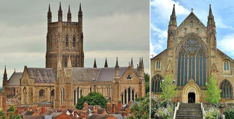 Вустерский кафедральный собор в Англии