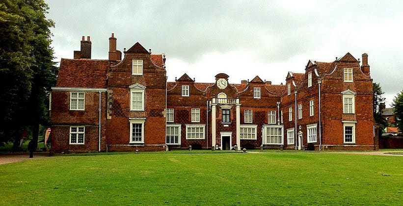 Дом Christchurch Mansion в Ипсуиче (Англия)