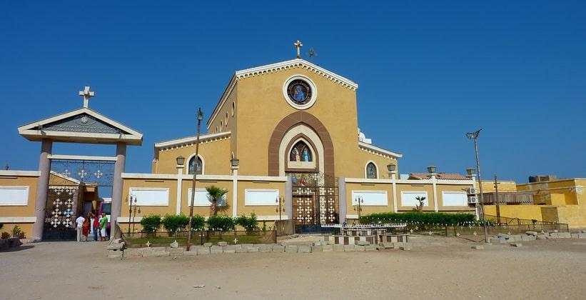 Коптская церковь в Эль-Кусейре (Египет)