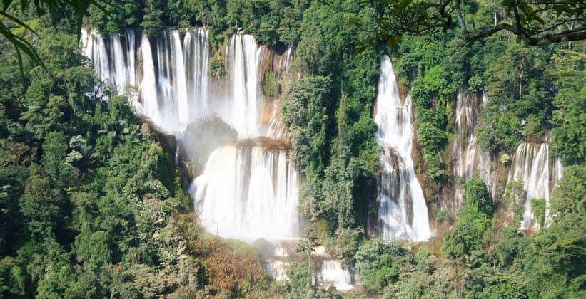 Водопад Ти Ло Су в Умпанге (Таиланд)