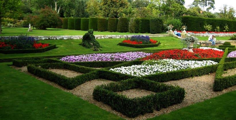 Сады Грумбридж-Плейс в Англии