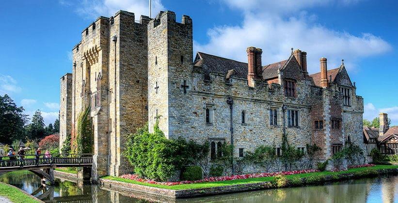 Хиверский замок в Англии