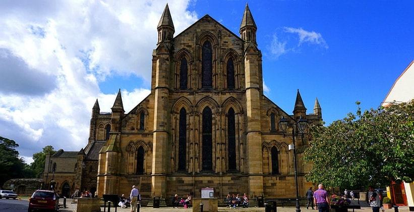 Архитектура аббатства Хексем (Англия)
