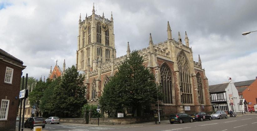 Церковь Святой Троицы в Кингстон-апон-Халле (Англия)