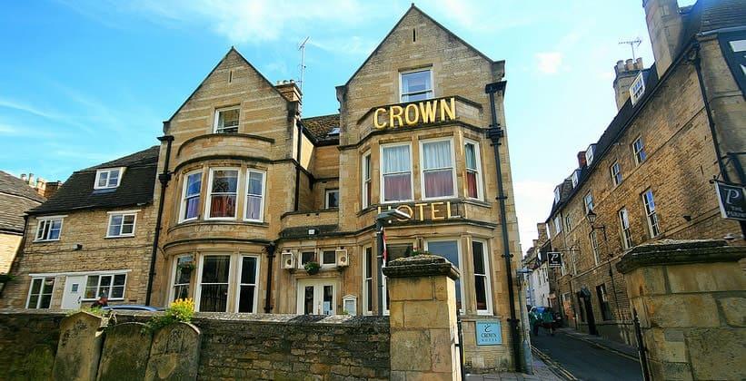 Отель Crown в Стамфорде (Англия)