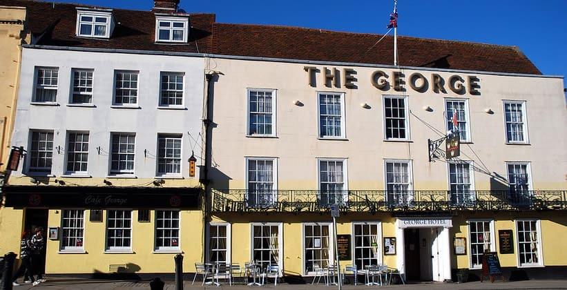 Отель The George в Колчестере (Англия)