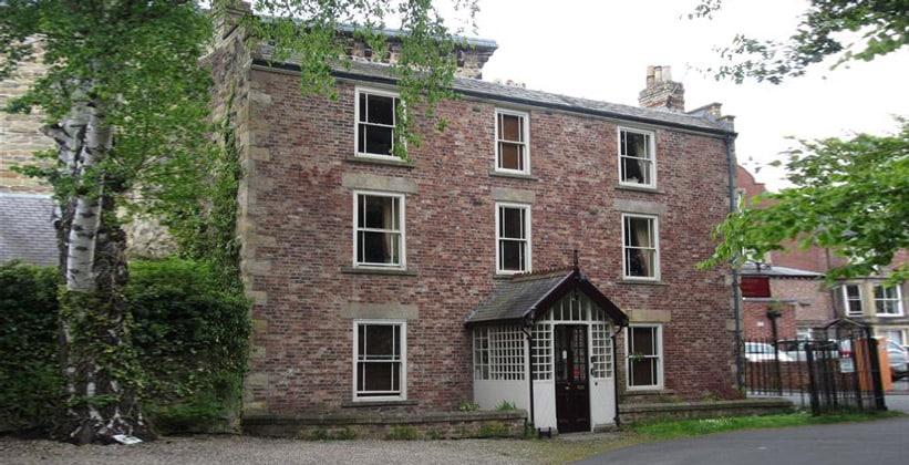 Пансион Hallbank в Хексеме (Англия)