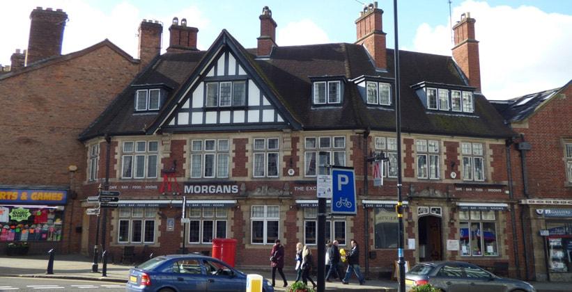 Отель Morgans в Шрусбери (Англия)