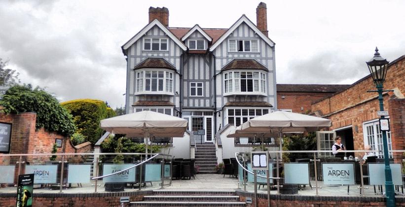 Отель The Arden в Стратфорд-апон-Эйвоне (Англия)