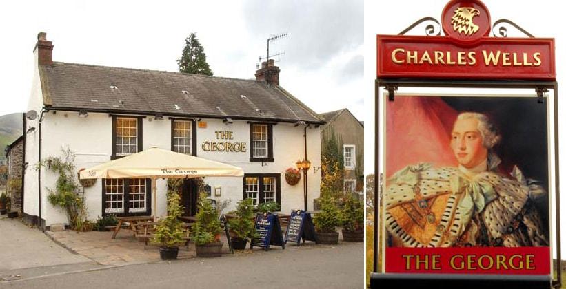Отель The George в деревне Каслтон (Англия)