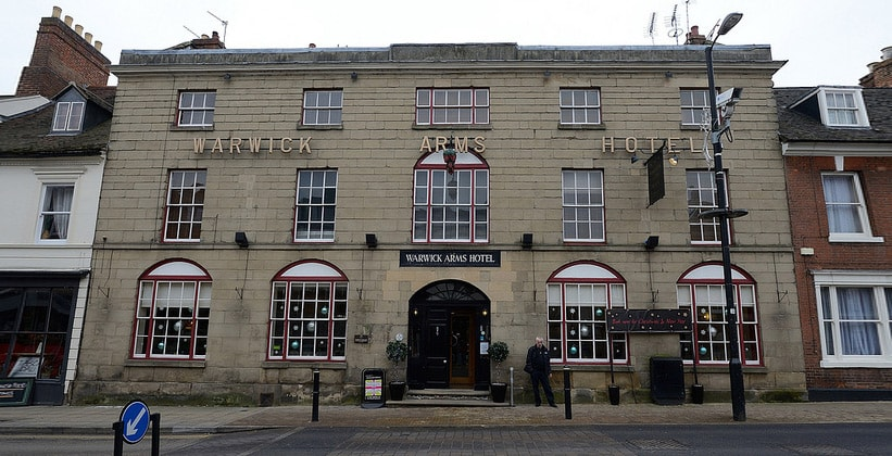 Отель Warwick Arms в Уорике (Англия)