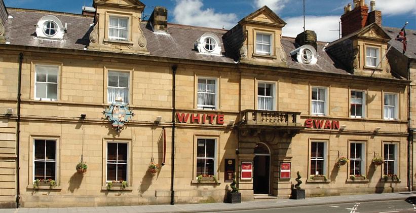 Отель White Swan в Алнвике (Англия)