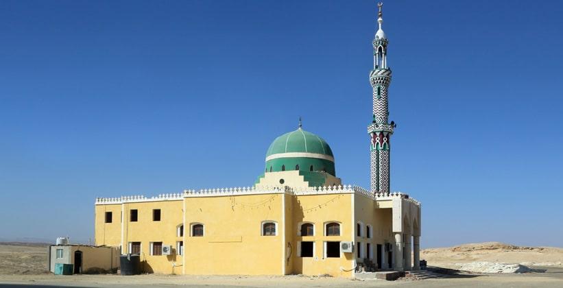 Мечеть в Эль-Кусейре (Египет)
