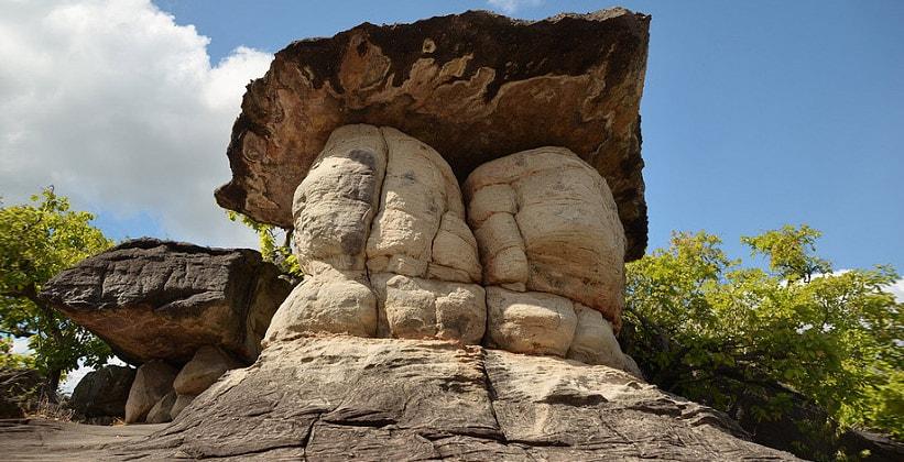 Национальный парк Мукдахан (гигантский песчаный гриб) в Таиланде