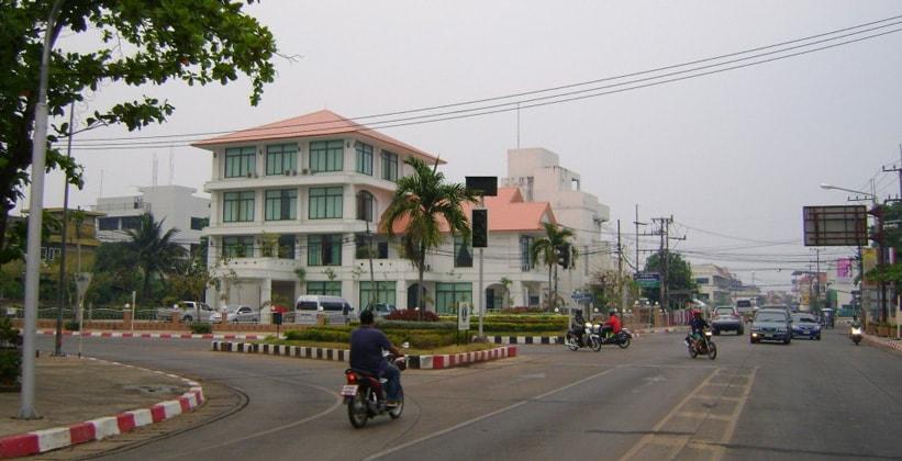 Город Мукдахан в Таиланде