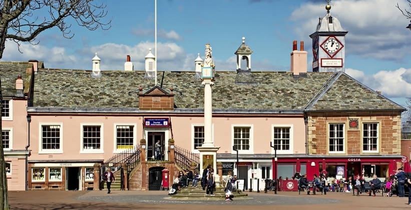 Старая ратуша Карлайла (Англия)