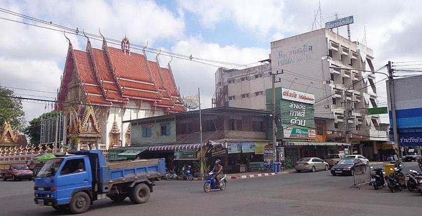 Город Пхимай в Таиланде