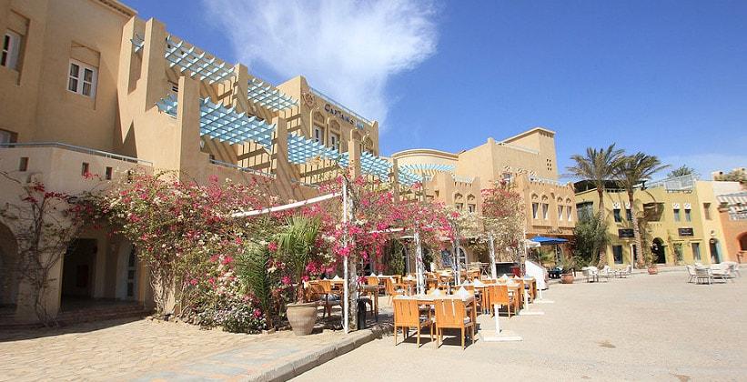 Ресторан Marina на курорте Эль-Гуна (Египет)