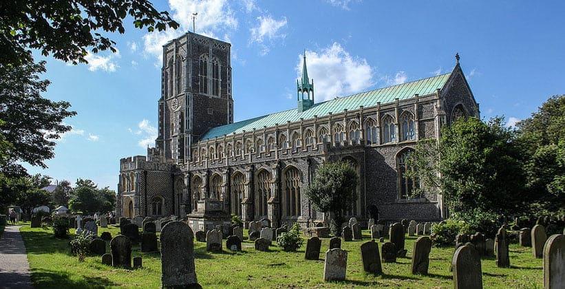 Церковь Святого Эдмунда в Саутволде (Англия)